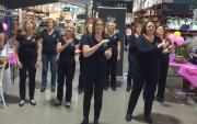 Singing at Bunnings