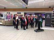Christmas Singing at the Airport 2016