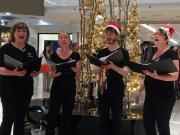 Christmas quartet 1 at the Myer Centre